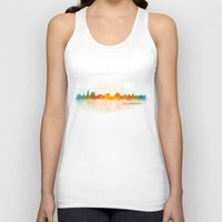islam Tank Tops featuring Jerusalem City Skyline Hq v3 by HQPhoto