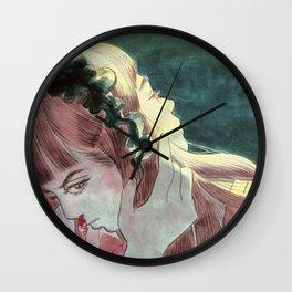 Behind my shades Wall Clock
