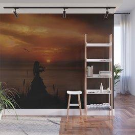 Sunset Serenade Wall Mural