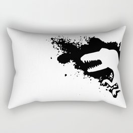 T-Rex Splash Rectangular Pillow