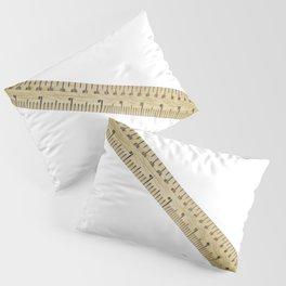 Meter Ruler Gauge Geometry Technical Drawing Construction Industries Pillow Sham