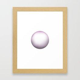 The Ball Framed Art Print