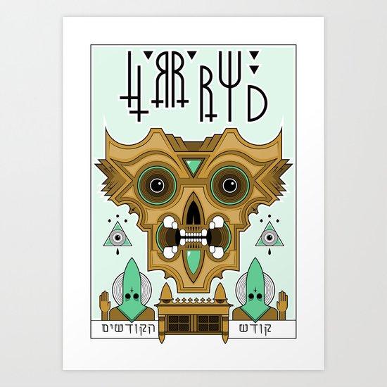 HRRRWD Art Print