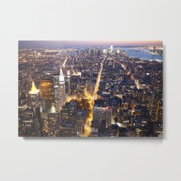 NYC FIRE Metal Print