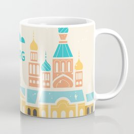St. Petersburg Fountains Coffee Mug