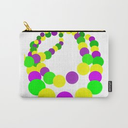 Mardi Gras Beads Carry-All Pouch