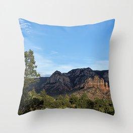 Adobe Jack Trail View, No. 1 Throw Pillow