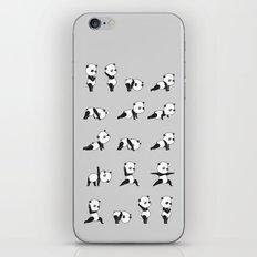 Yoga Bear - Panda iPhone & iPod Skin