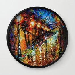 Sweet Solitude Wall Clock