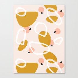Abstract Fall III #society6 #abstractart Canvas Print