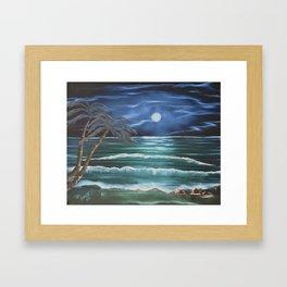 Bahama Blue Framed Art Print