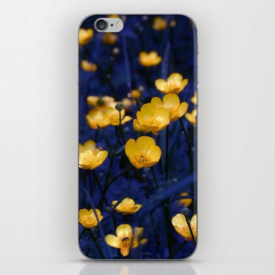 a sea of buttercups iPhone & iPod Skin