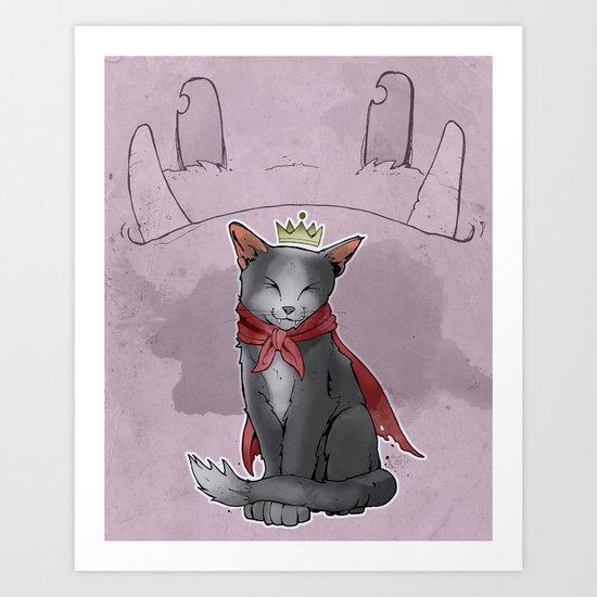 Cait Sith Art Print