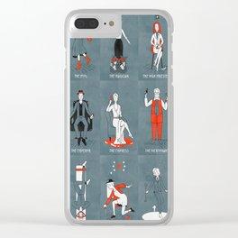 AHS Tarot Clear iPhone Case