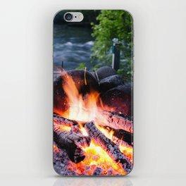 River & Fire iPhone Skin