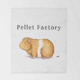 Pellet Factory - Guinea Pig Poop Throw Blanket