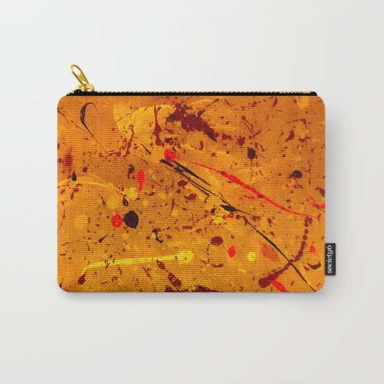 Abstract #2 - Embers Carry-All Pouch