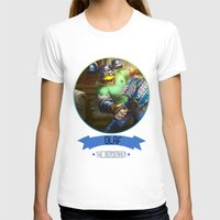 league T-shirts featuring League Of Legends - Olaf by TheDrawingDuo