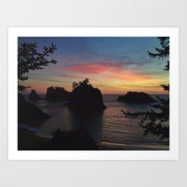 Samuel H Boardman Sunset Art Print