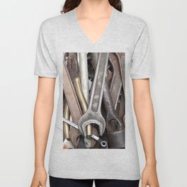 old tools Unisex V-Neck