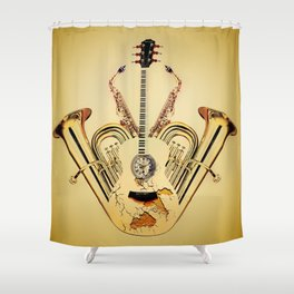 Orchestrate Shower Curtain