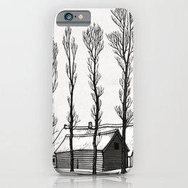 Julie de Graag - Winter iPhone Case