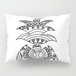 Ornate pineapple Pillow Sham