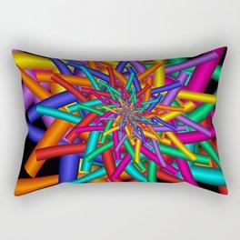 turn around with colors -44- Rectangular Pillow