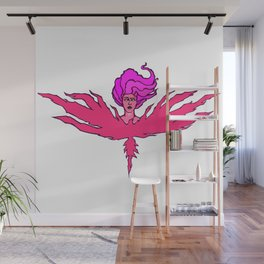 Power (Magenta) Wall Mural