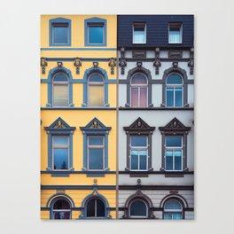 German architecture #society6 #decor #buyart Canvas Print