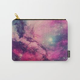 Purple Twilight Galaxy Carry-All Pouch