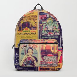 Concert posters Backpack