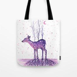 Rooted Deer Tote Bag