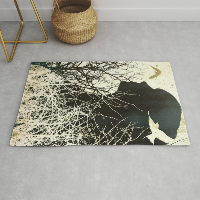 Fleeting Freedom Rug By Efrogdesigns
