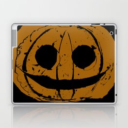 Pumpkin Hand Print Laptop & iPad Skin