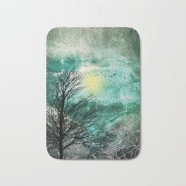TREES under MAGIC SKY I Bath Mat