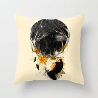 once upon a  time Throw Pillows featuring Once Upon a Time by nicebleed
