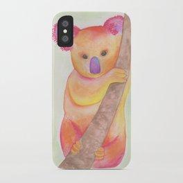 Colorful Koala iPhone Case