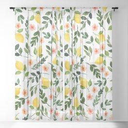 Lemon Grove Sheer Curtain