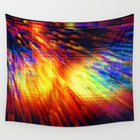 storm Wall Tapestries featuring Storm by 2sweet4words Designs