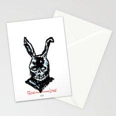 Donnie Darko: FEAR • FRANK • LOVE Stationery Cards