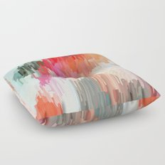 Everything will flow Floor Pillow