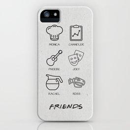 Friends Minimalist Poster iPhone Case