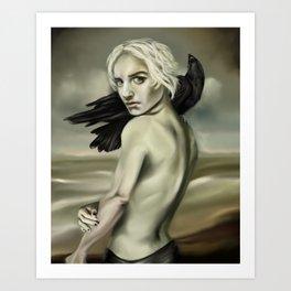 Draco, Marked Art Print