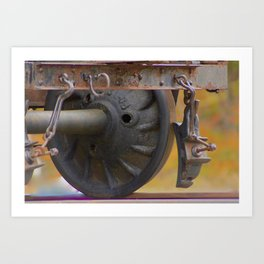 Keep On track ... Art Print