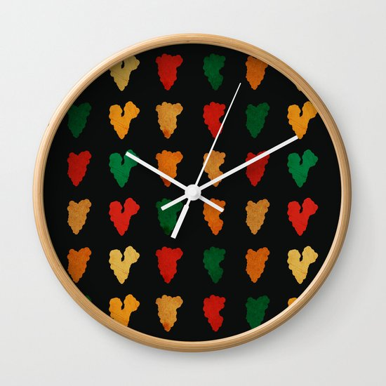 Smokes Wall Clock