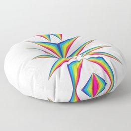 Delta Diamond Floor Pillow