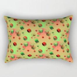 little cubes for a duffle bag Rectangular Pillow