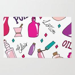 Make-Up Bottles Rug