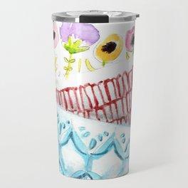 Cups on Cups on Cups Travel Mug